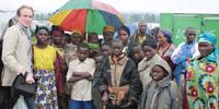 Protesters pelt UN compound in eastern Congo