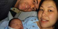 A baby dies because of tainted heparin