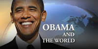 The world watches as President Obama takes office