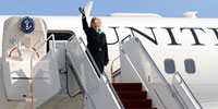 No. Korea spews blustery rhetoric as Clinton arrives in So.