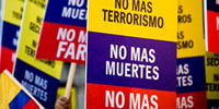 Weakened rebels release several hostages in Colombia