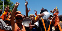 Military takes over as Madagascar's political crisis churns