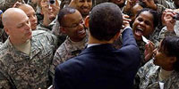In first 100 days, Obama changes tone toward Middle East