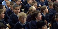 Divided Northern Ireland works to integrate schools