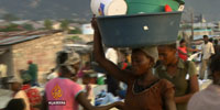 Expectant mothers in Haiti cope with chaotic conditions