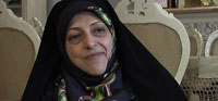 Extended interview with Iran's first female vice president