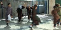 Jerusalem schoolchildren dance their way to the U.S.