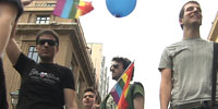 Activists in Greece agitate for greater rights for gays