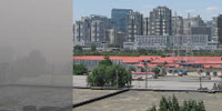 China's air quality improves but remains highly polluted